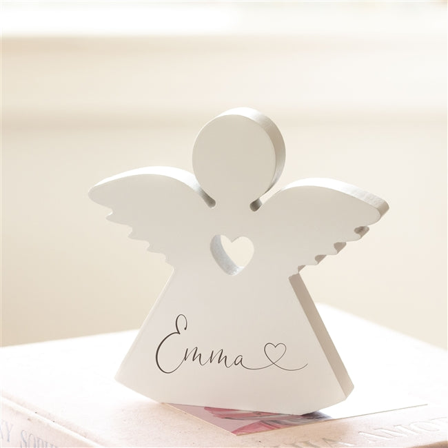 Wooden Name Angel