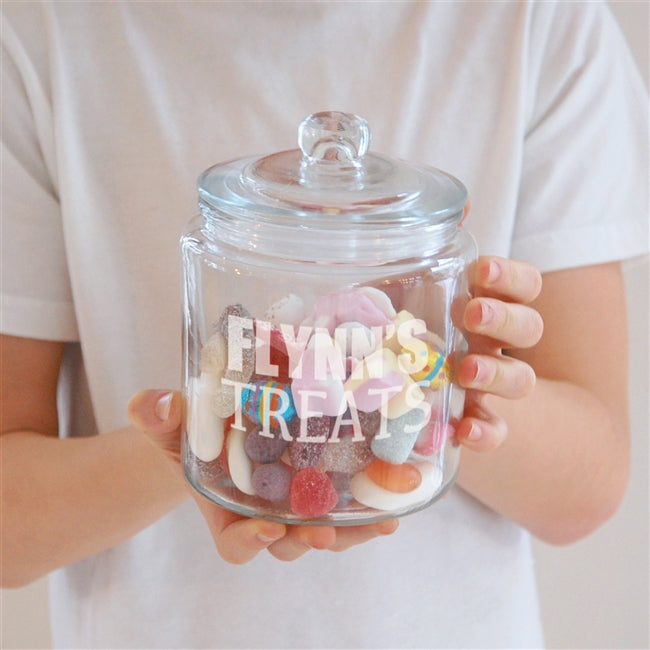 Personalised Treats Jar