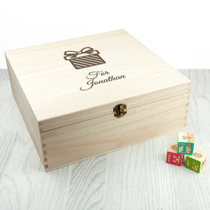 Personalised Surprise Announcement Box