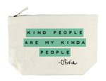Personalised 'Kindness' Wash Bag