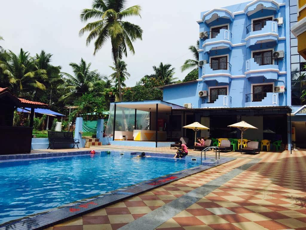 Camelot Fantasy Resort 3 Star - Baga Beach - North Goa