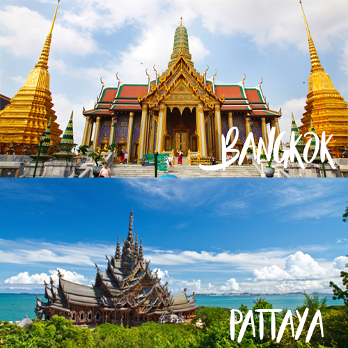 Thailand Bangkok & Pattaya 5 Nights @ Rs 11,900/-