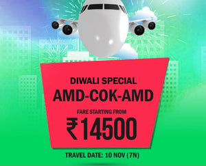 Cochin Flight tickets 7 Nights Diwali for 7 Nights
