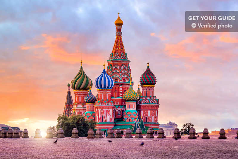 Moscow-Russia 6 Night 7 Days with Aryan Dream Holidays