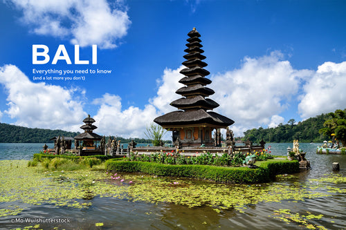 Bali 3 NIghts @ Rs 9900/- PP