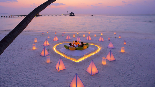 Maldives special honeymoon package @ 33,799 /- P.P