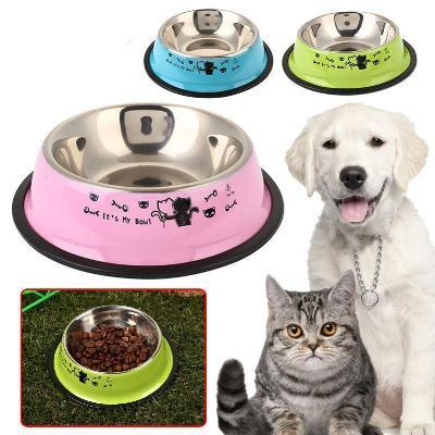 Dog Accessories And Supplies | Dogwarehouse - Affordable Products | Dog Colorful Bowls | Dog Stainless Steel Bowl
