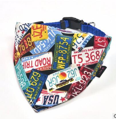 Dog Neckerchief Scarf Collars - Road Trip