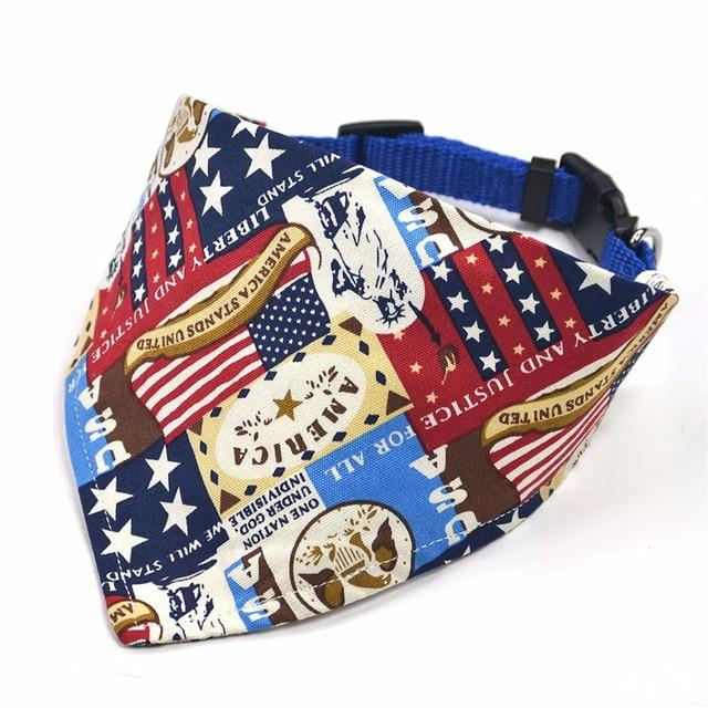 Dog Neckerchief Scarf Collars - USA