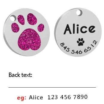 Dog Accessories - Personalized Engraved ID Dog Tag