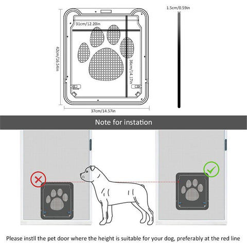 Image of Dog Doors - Multi Function Magnetic Door