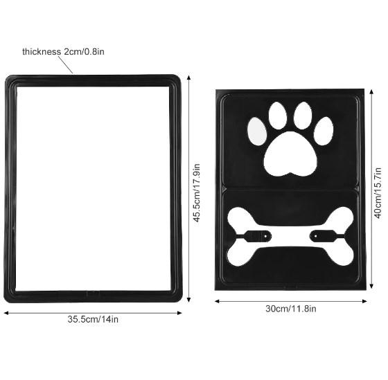 Dog Doors - Multi-function Snap Screen Door