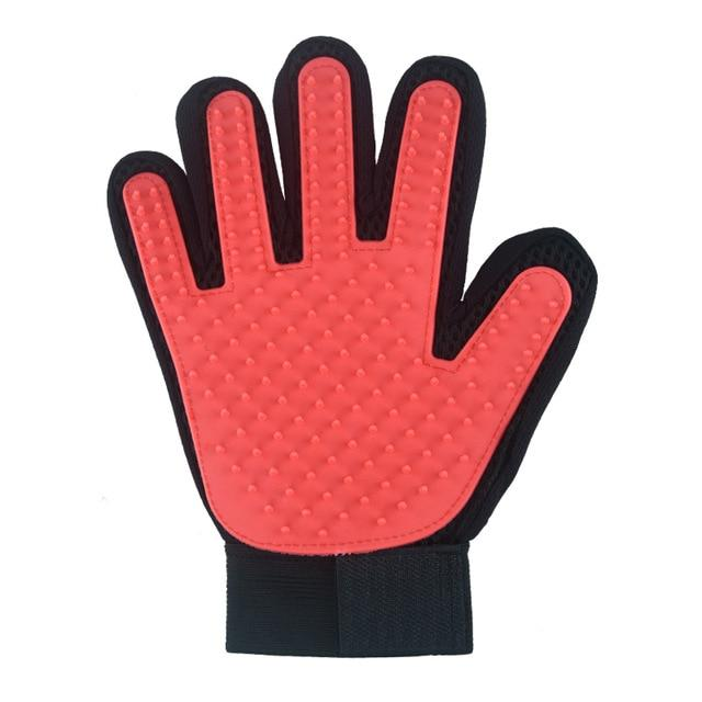 Dog Grooming Accessories - Dog Fur Removal Gloves - Right Hand