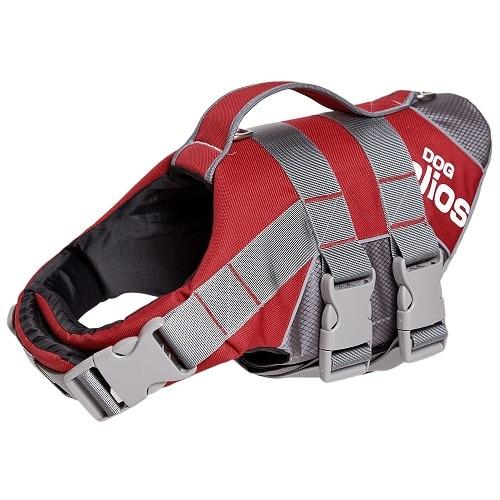 Dog Life Jacket Red S-XXL