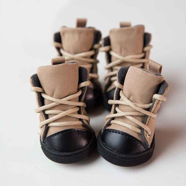 Winter Anti Slip Boots Dog Shoes