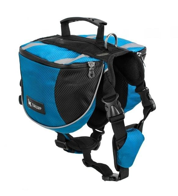 Dog Saddlebag Backpack Plus Free Dog Leash