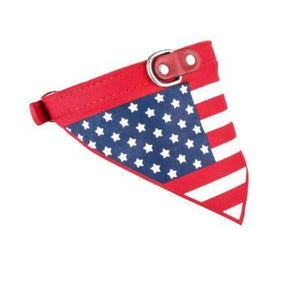 Flag Style Pet Collar Classic Bandanas For Small Dog
