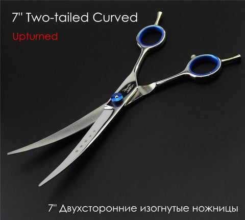 Professional Dog Grooming Scissors Straight Curved Thinning 6.0 & 7.0 Inch