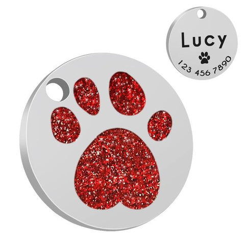 Personalized Engraved ID Dog Tag