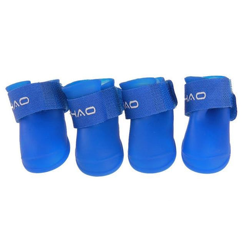 4 Pcs/Set Dog Foot Shoes