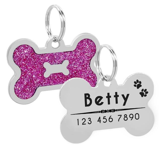 Dog Personalized Bone Shape