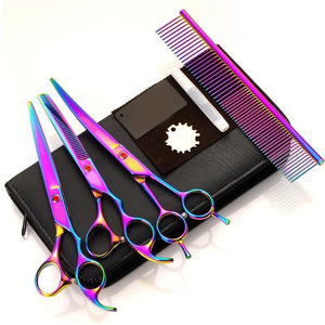 Dogs Grooming Hair Cutting Scissor Set