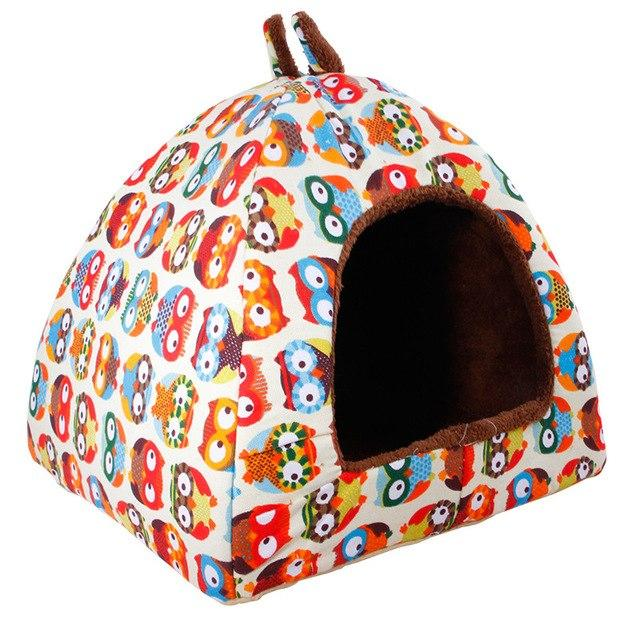 Dog Soft Fleece Bed House