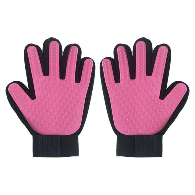 Dog Fur Removal Gloves - Right and Left Hand