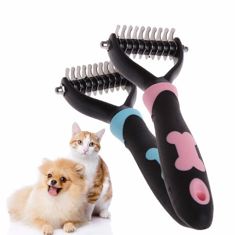 Dog Brush Rake Comb Trimmer