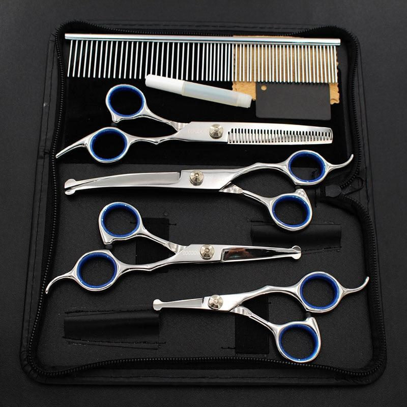Dog Professional Grooming Scissors Set