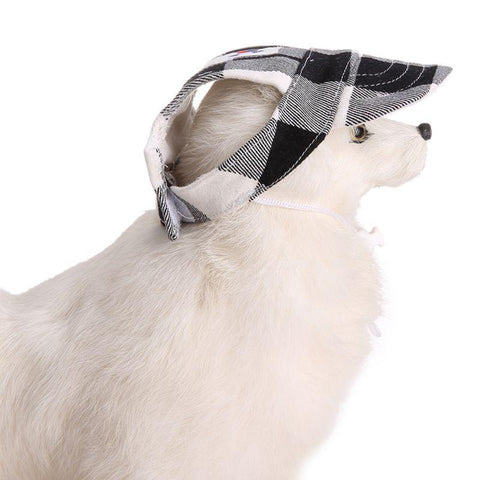 Image of Dog Visor Cap With Union Flag Design
