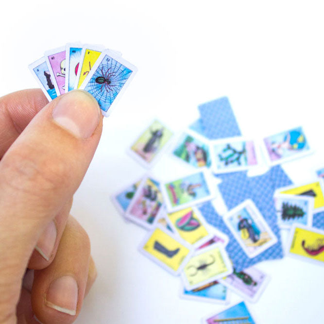 photo relating to Printable Loteria Cards Pdf identified as Printable: Miniature Loteria Playing cards Bees Knees Industries