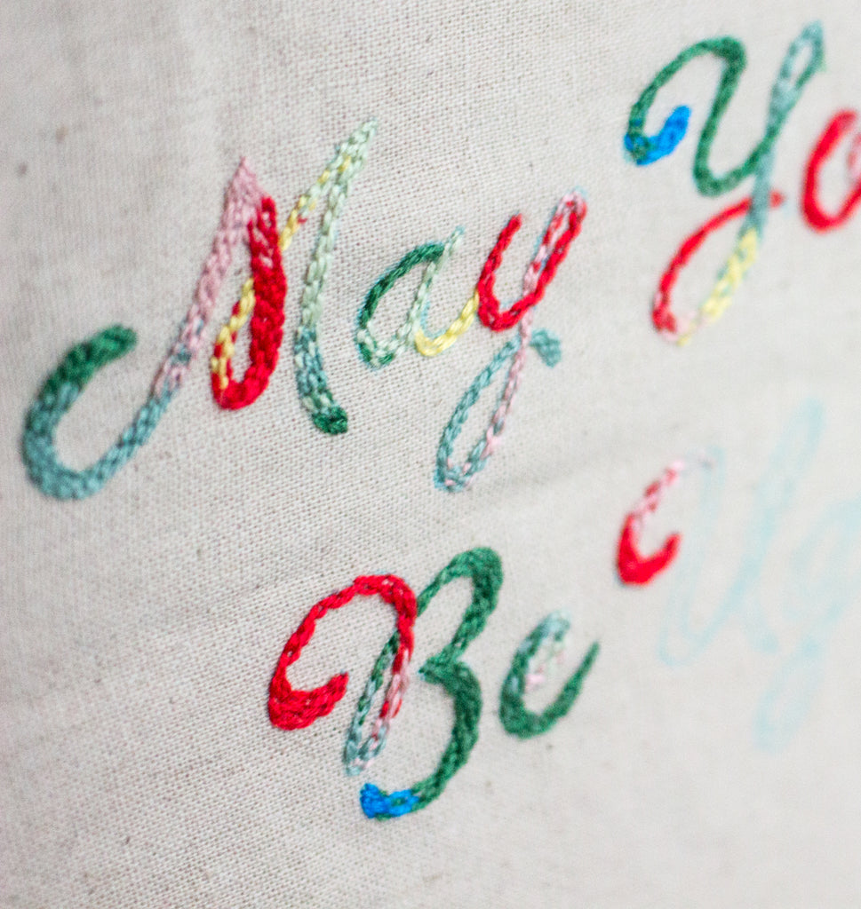 Embroidery Tutorial: Blending Colors with Seed Stitch