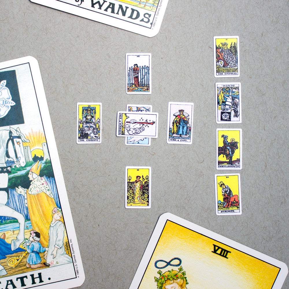 Printable: Miniature Tarot Cards