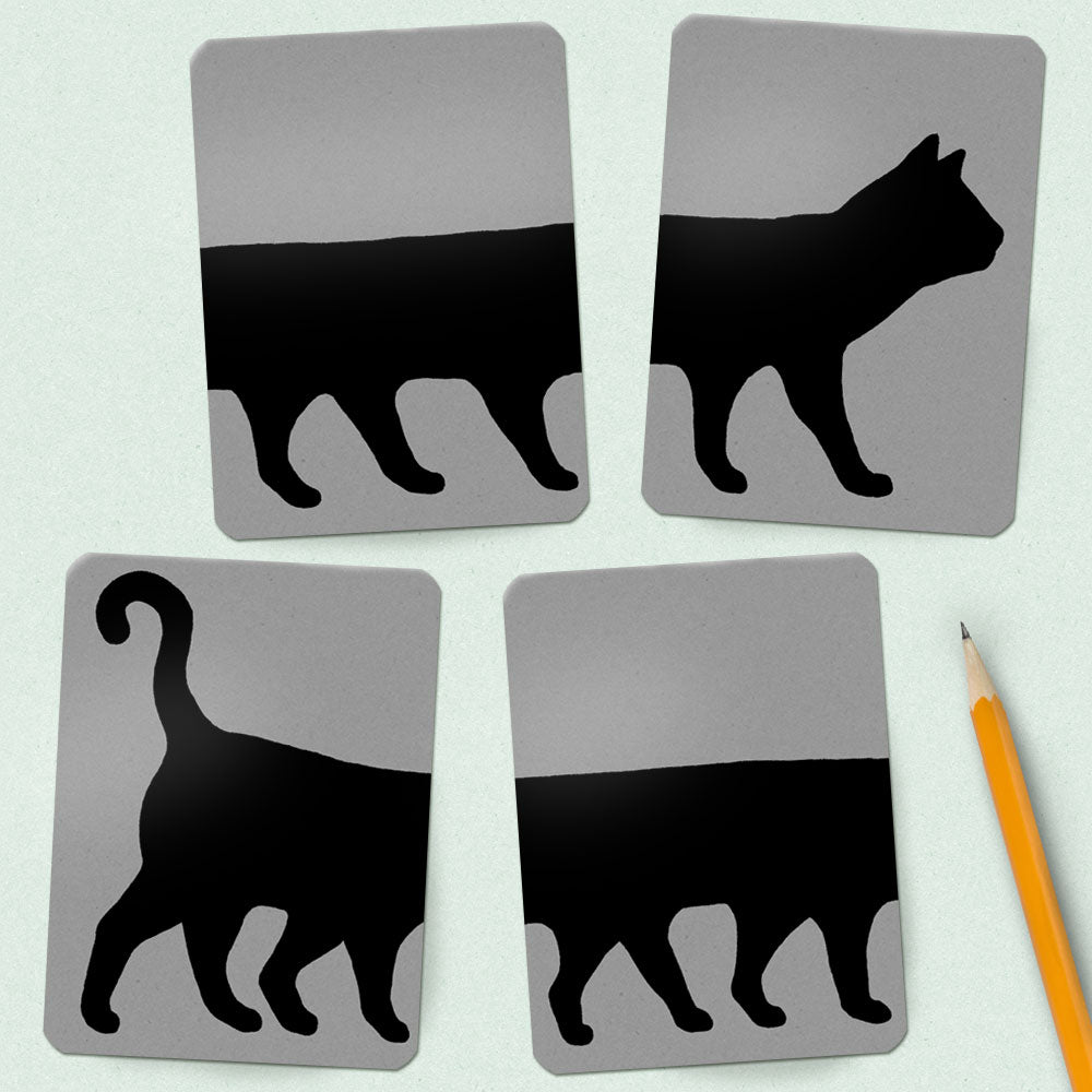 Scrapbooking Printable: Friday the 13th Cat