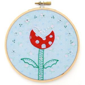 Embroidery Pattern: Piranha Plant