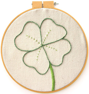 Embroidery Pattern: Lucky Clover