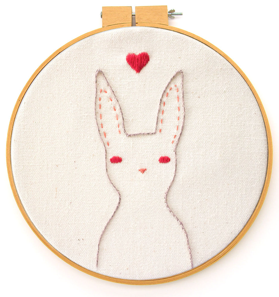 Embroidery Pattern: Rabbit
