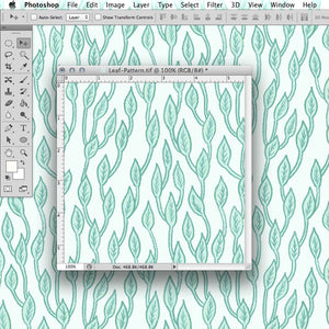 Photoshop Tutorial: Repeating Pattern Tile