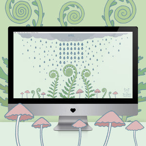 Desktop Wallpaper: April Showers