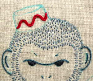 Embroidery Tutorial: Hungarian Braided Chain Stitch
