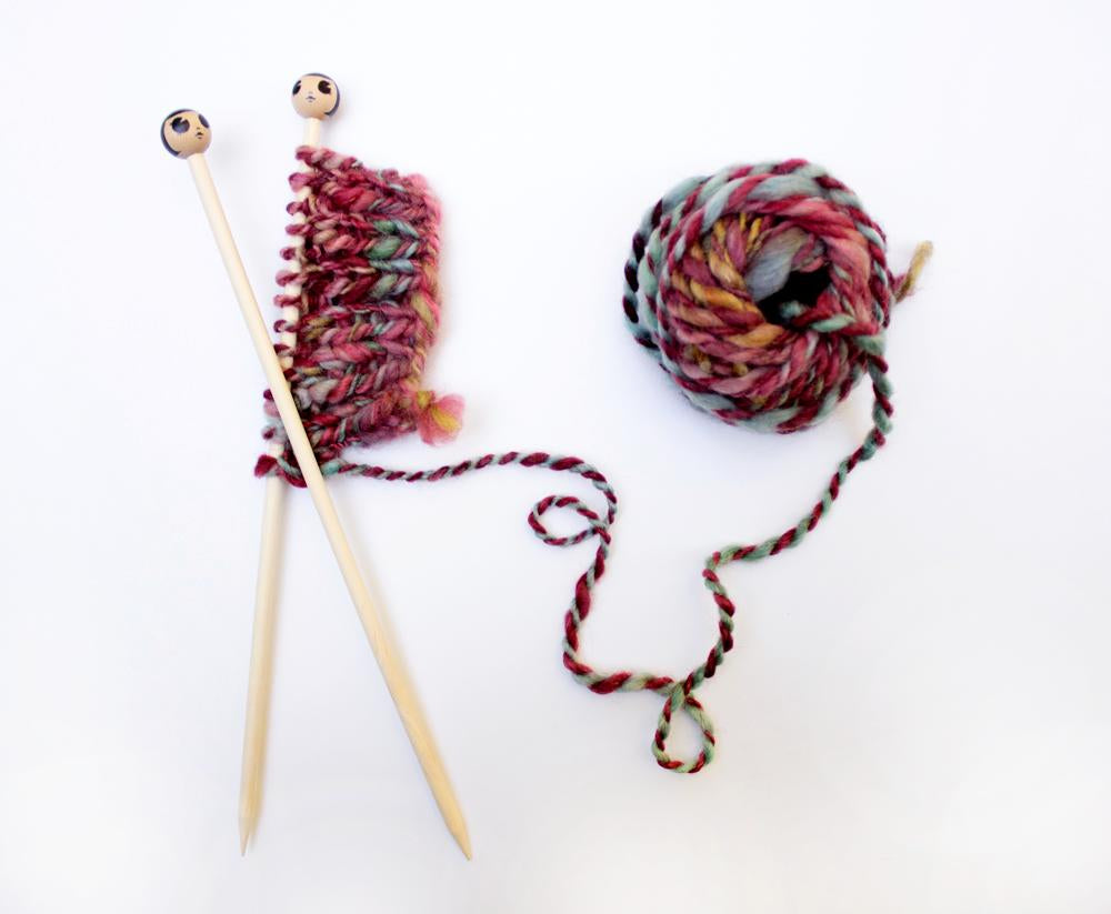 Make your own wooden knitting needles