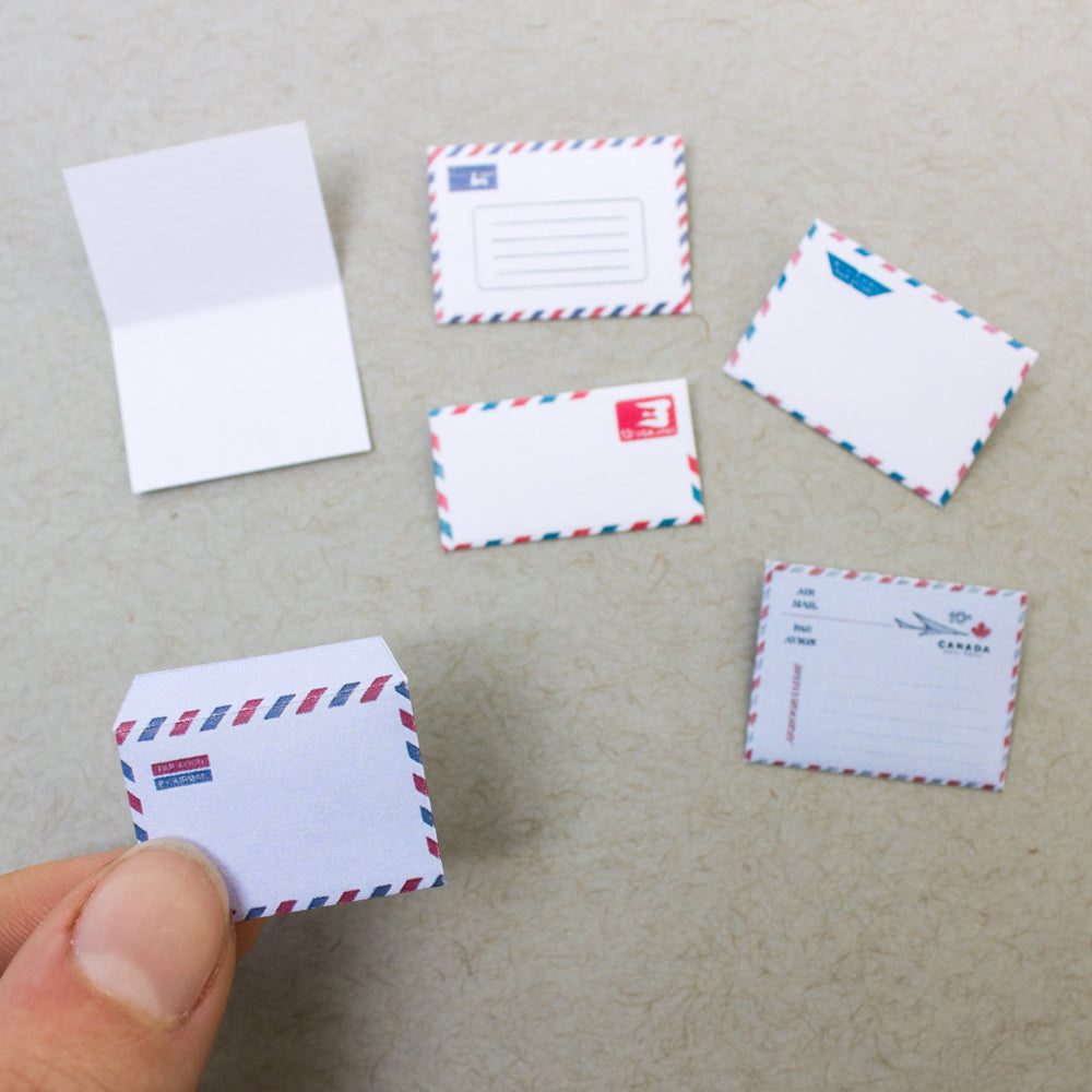 Miniature Par Avion Envelopes