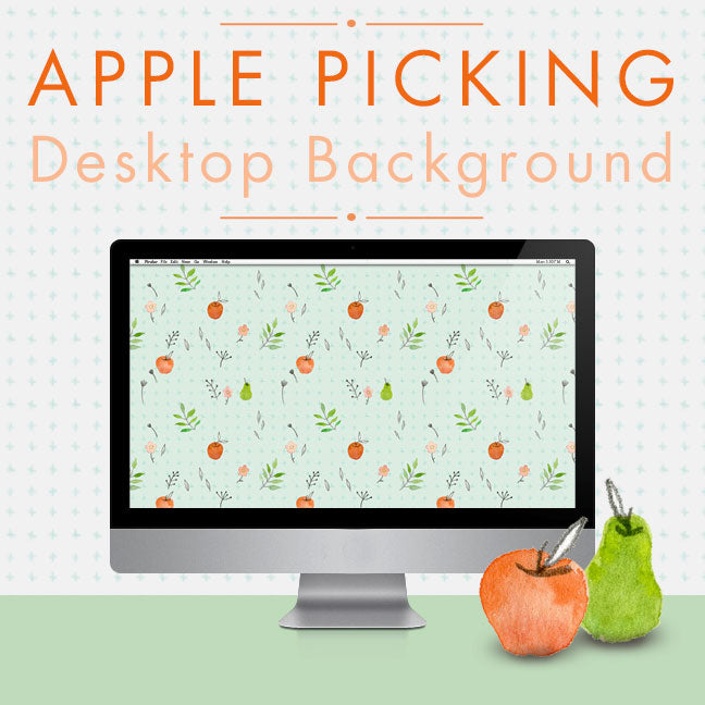 Apple Picking desktop background