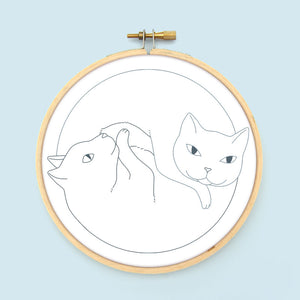 Catnaps Embroidery Patterns