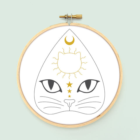 Witchcats Embroidery Patterns