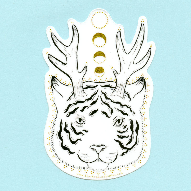 Fantastical Tiger Sticker