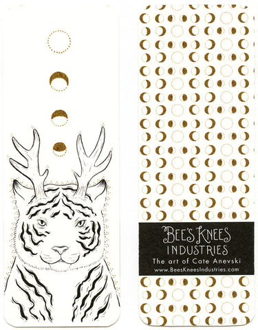 Fantastical Tiger Bookmark