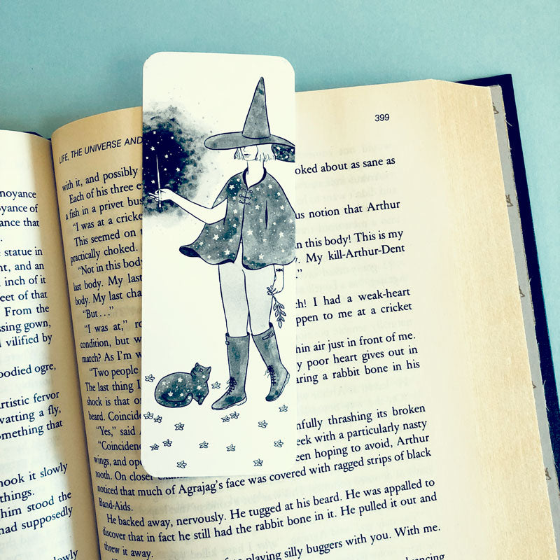 Starry Witch Bookmark