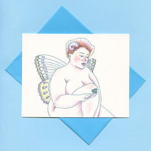 Pixie Greeting Card